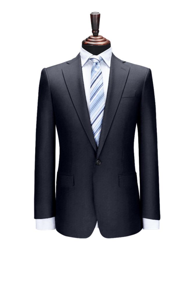 经典黑色西服上衣