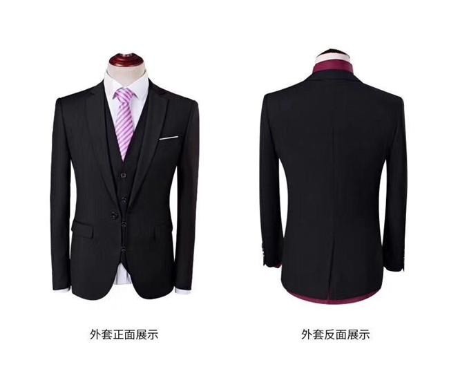 黑色西服外套展示