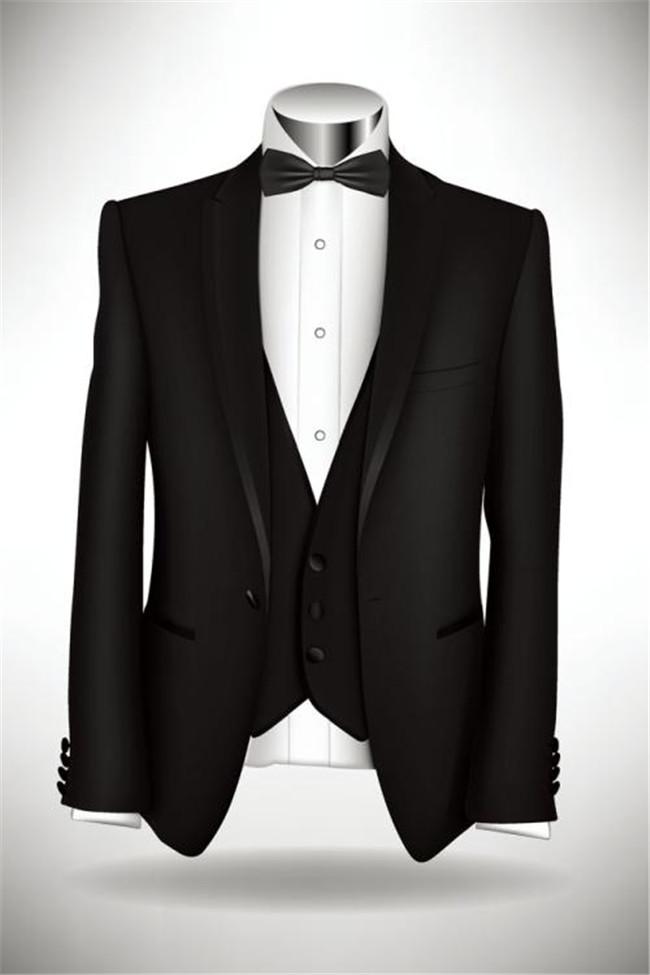 黑色禮服上衣