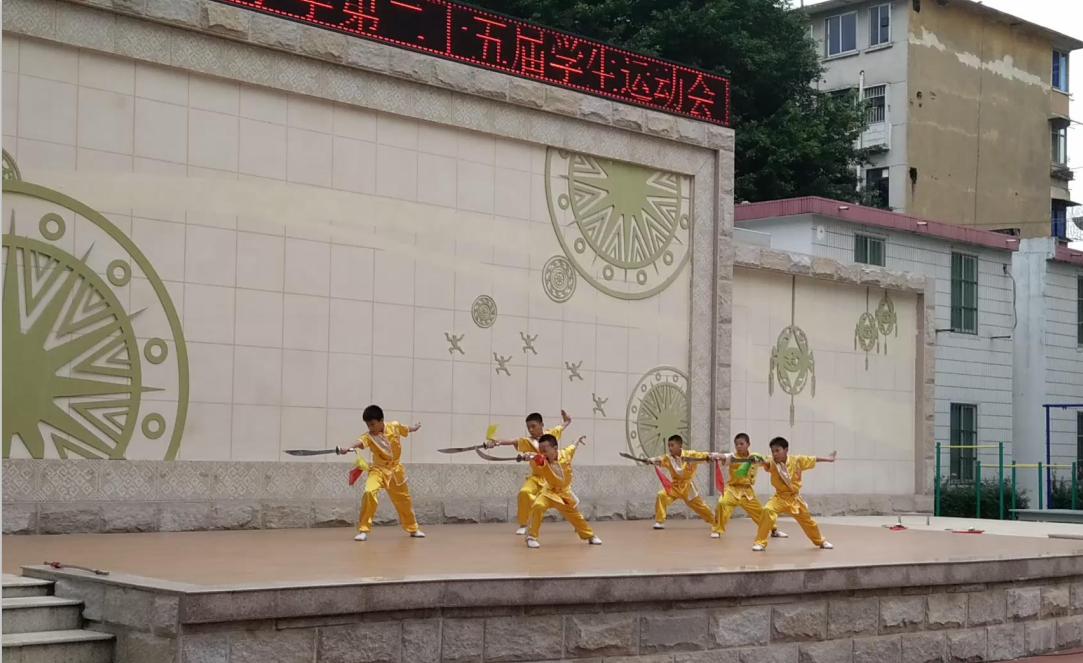 中华武术进老师--南宁市壮志路小学校园横扇小学图片