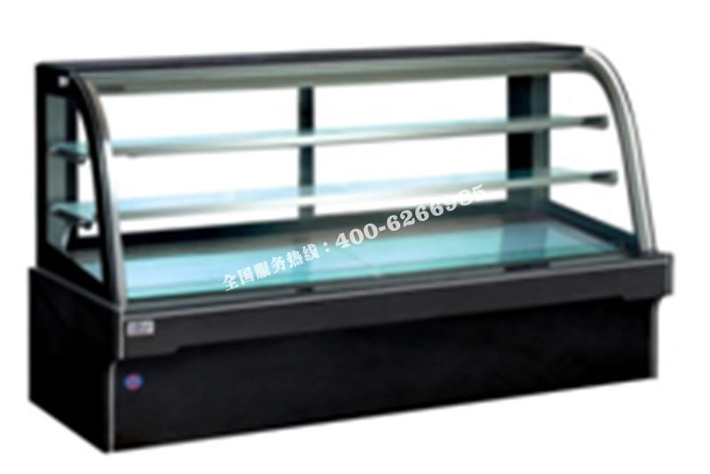 FDS-单弧大理石蛋糕柜