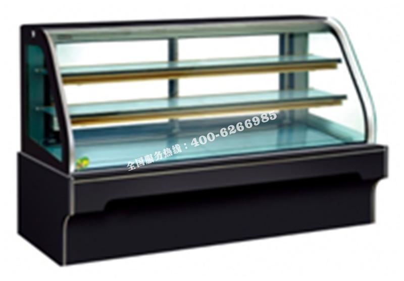 FDS-双弧大理石蛋糕柜