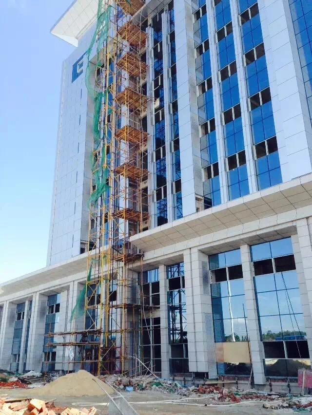 博白龙潭开发区海关大楼志高风管机项目