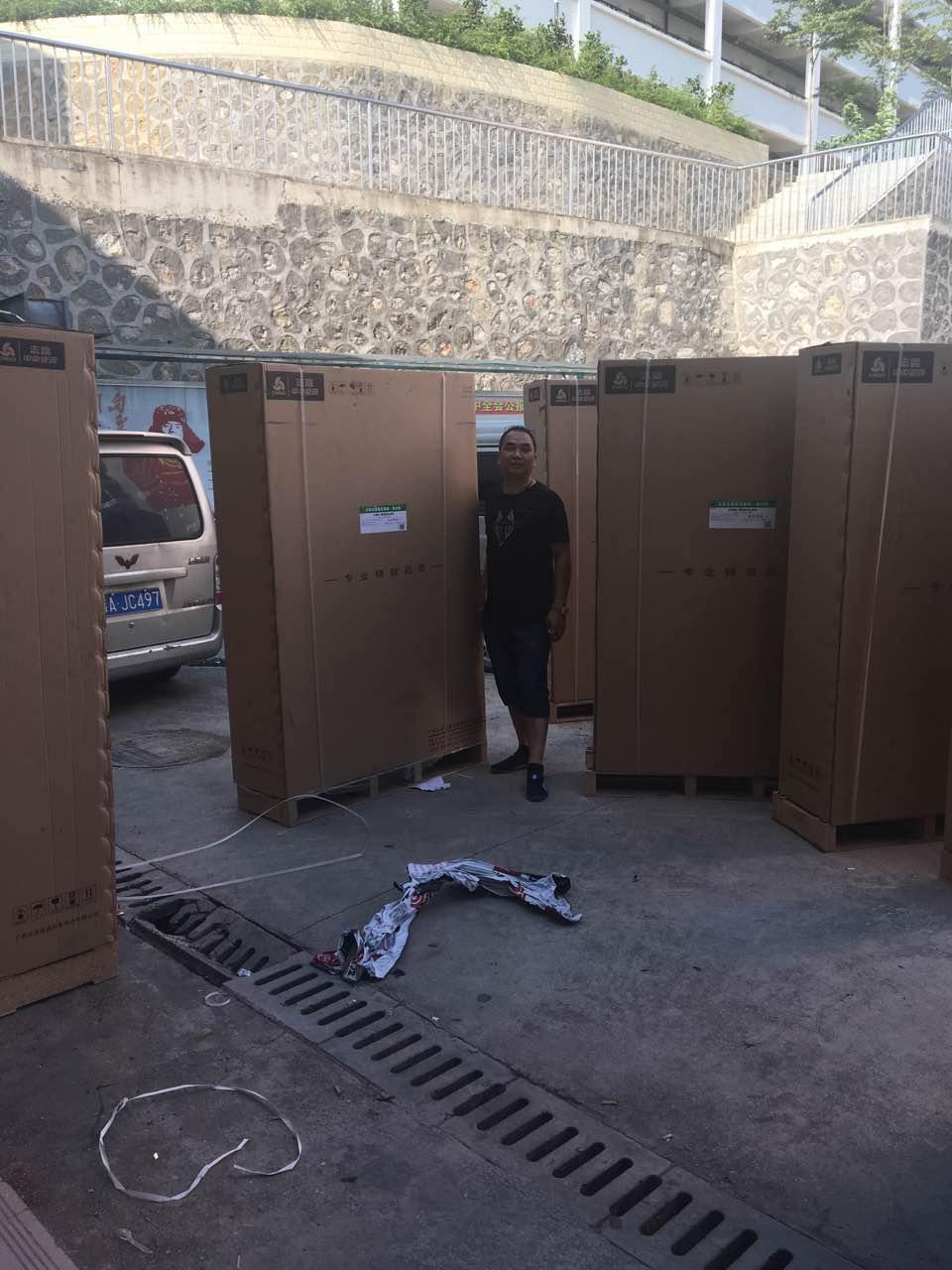 百色学院10匹志高风冷柜设计安装工程