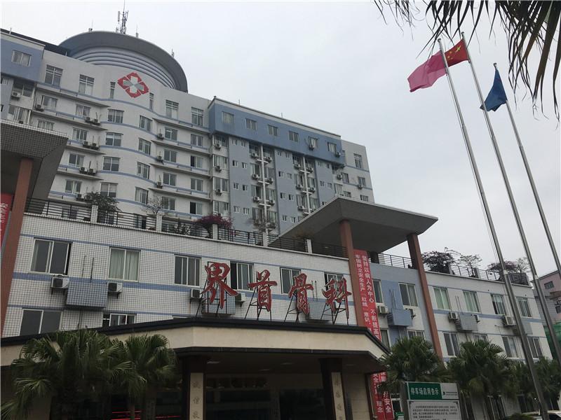 桂林界首骨科医院100吨热水项目