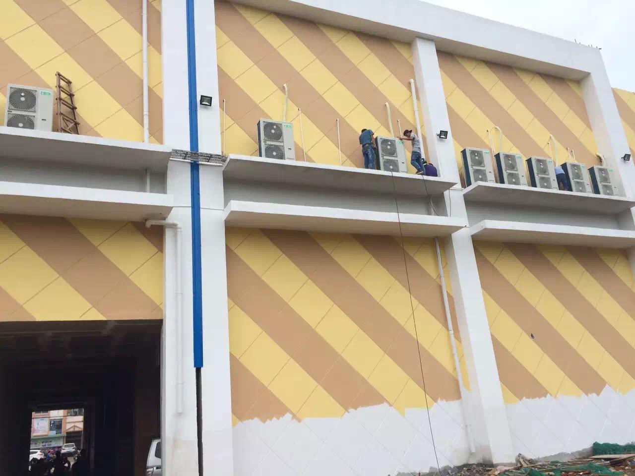 龙州电影院风管机工程