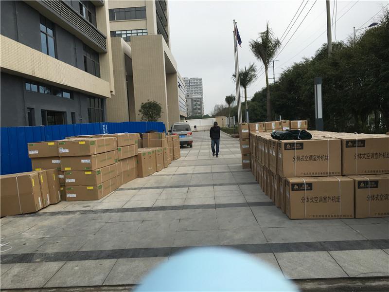 南宁中盟大酒店风管机工程项目