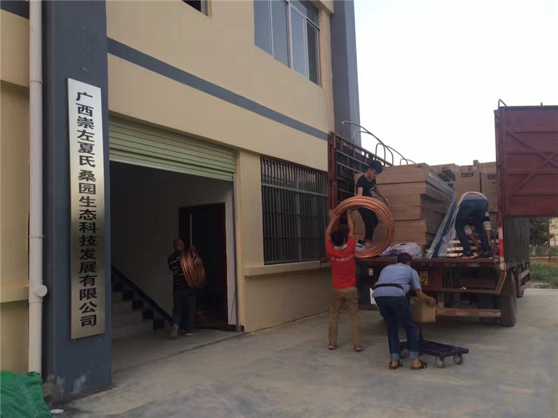 天等县创业园天花机项目工程