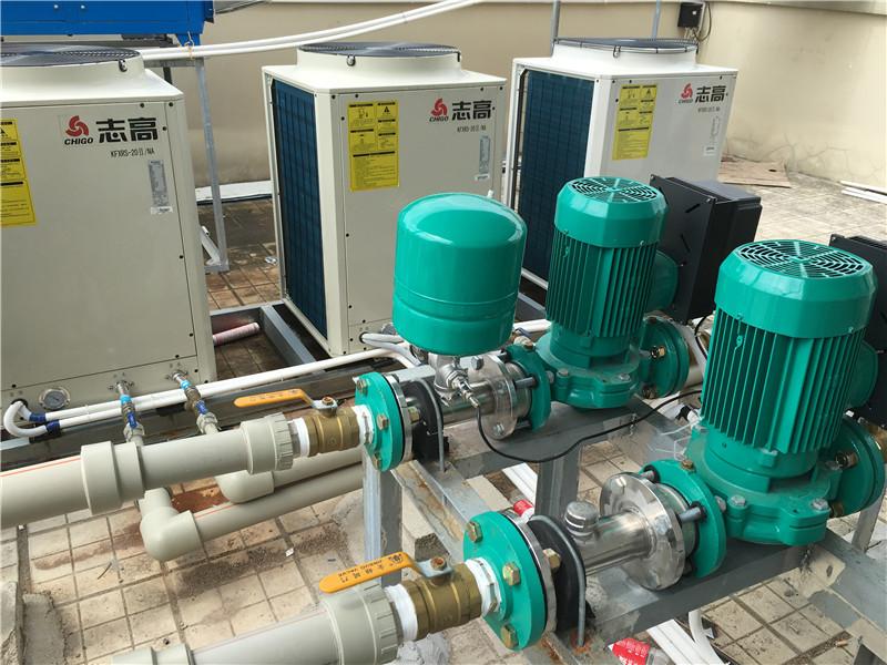 玉林人民医院30吨热水项目工程
