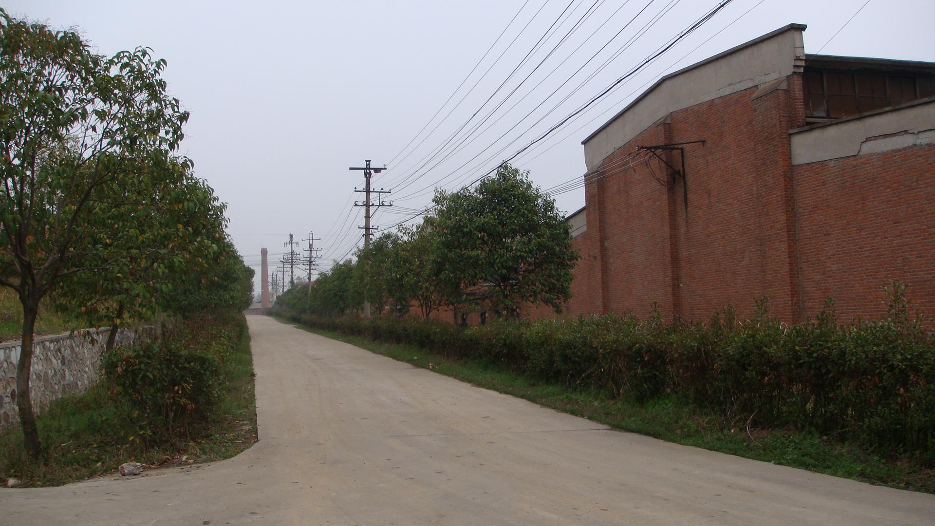 廣西工廠一角