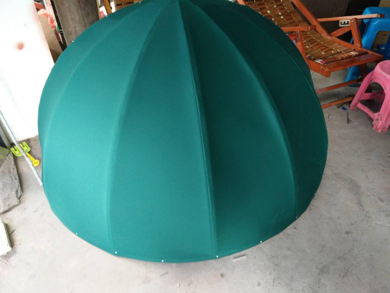 绿色西瓜篷