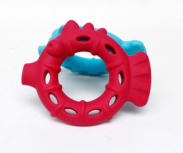 鱼形硅胶玩具140g