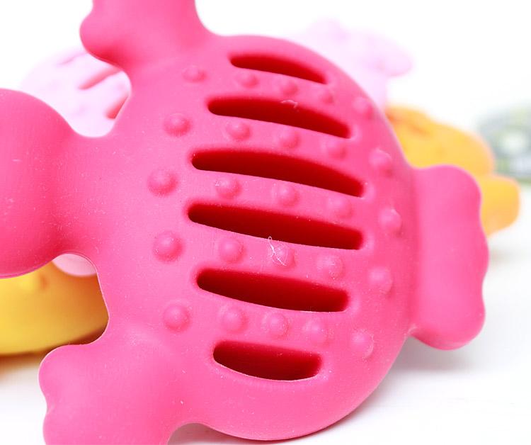 鸭子型硅胶玩具155g