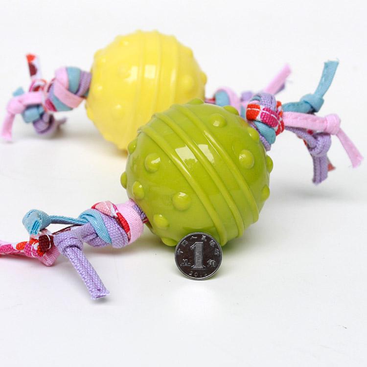 狗咬胶玩具圆形85g