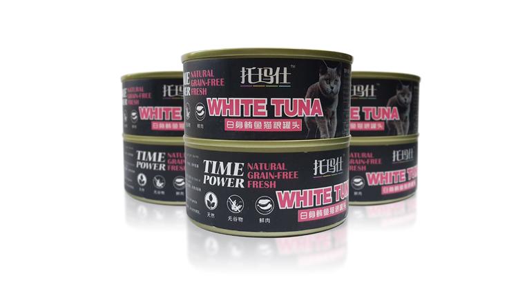 托玛仕白身鲔鱼猫粮罐头