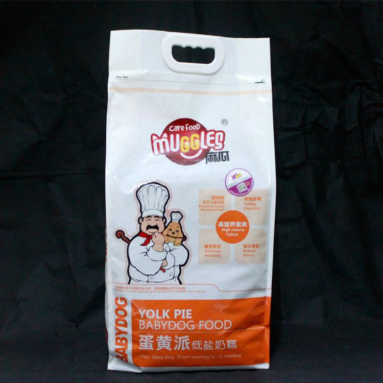 076201麻瓜奶糕糧低鹽蛋黃派5kg