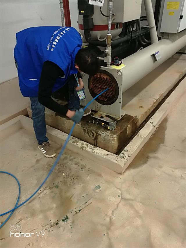 中央空调热换器管道清洗