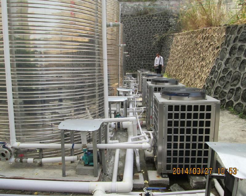 滕县第一中学200吨热水工程