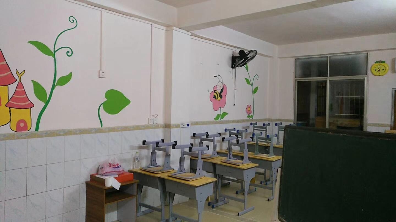 井然有序的教室