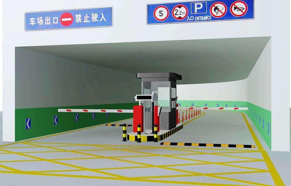 廣西車牌識別停車場管理系統