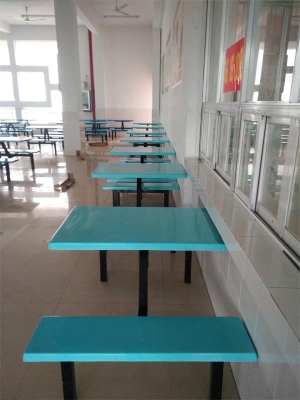广西食堂餐桌椅批发