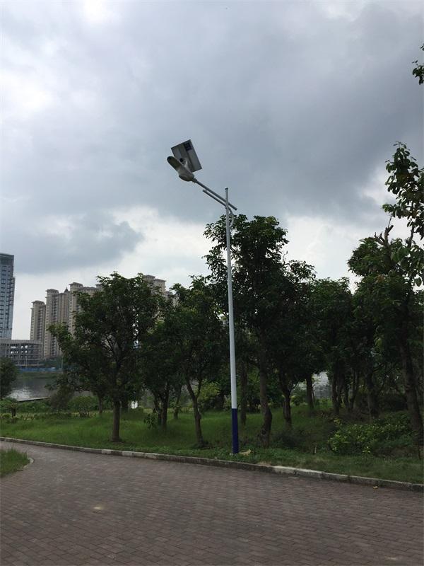 广西照明灯杆安装