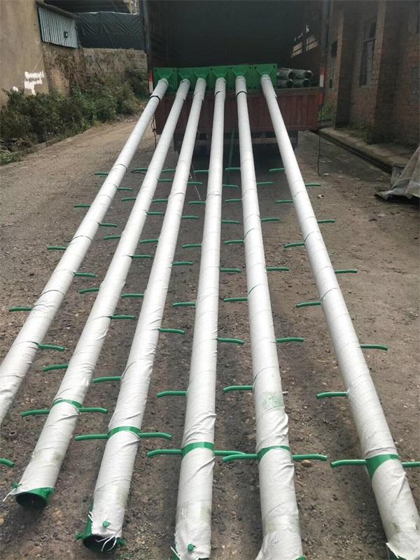 玉林爬梯球场灯杆安装案例