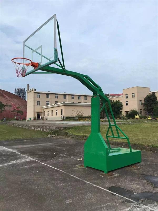 玉林平箱仿液压移动式篮球架