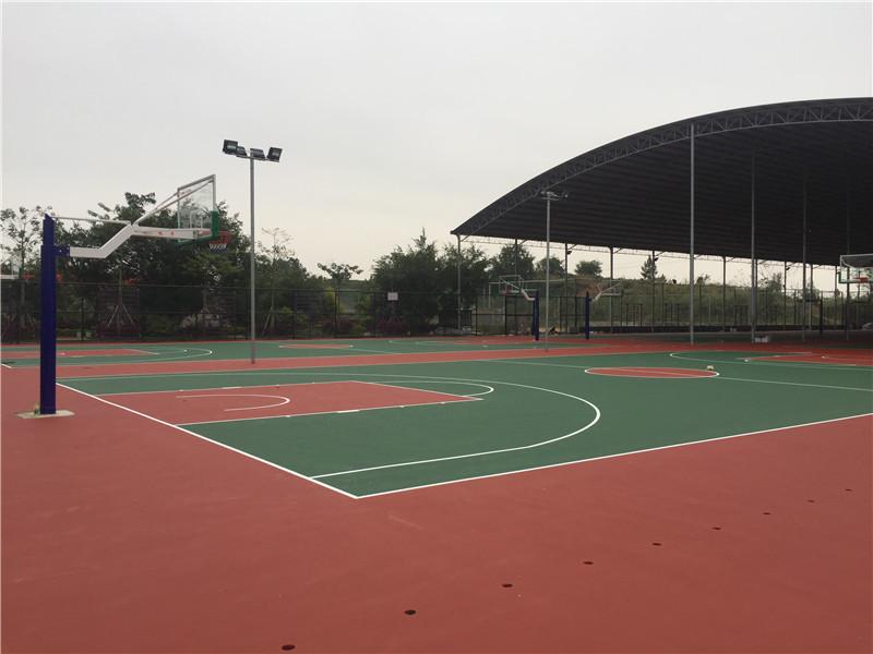 硅PU塑胶球场工程