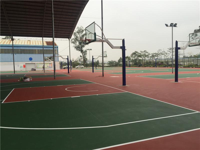 硅PU塑胶球场建设