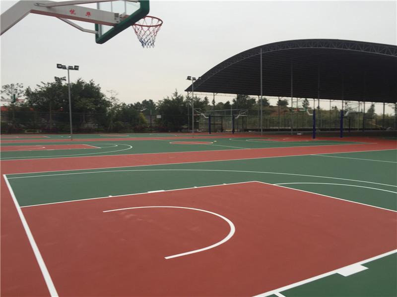 硅PU塑胶球场项目