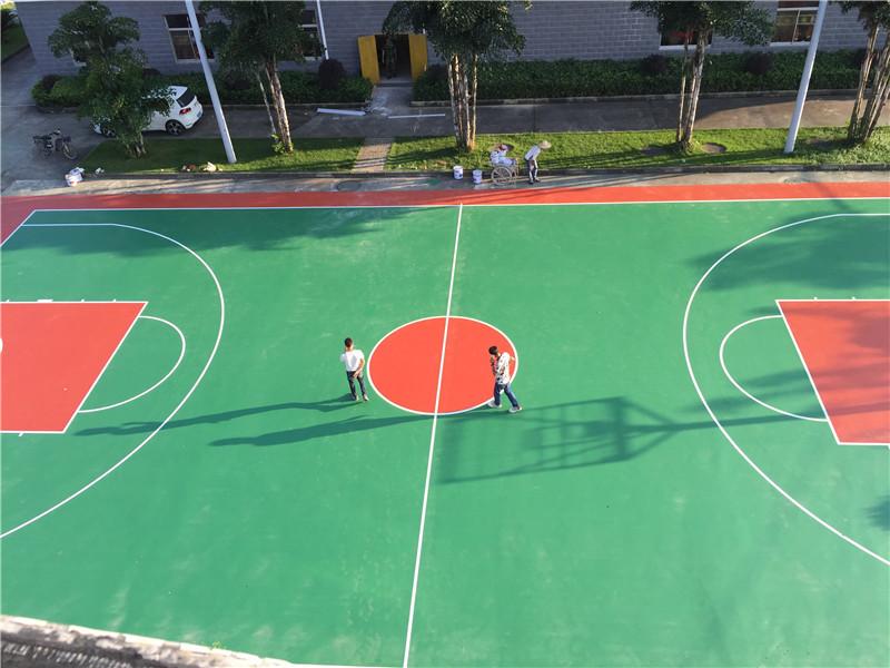 硅PU塑胶球场工程项目