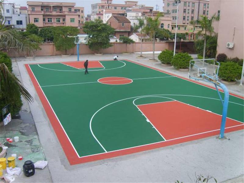 丙烯酸篮球球场