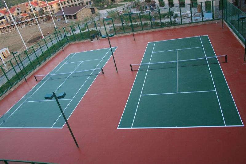 丙烯酸网球球场