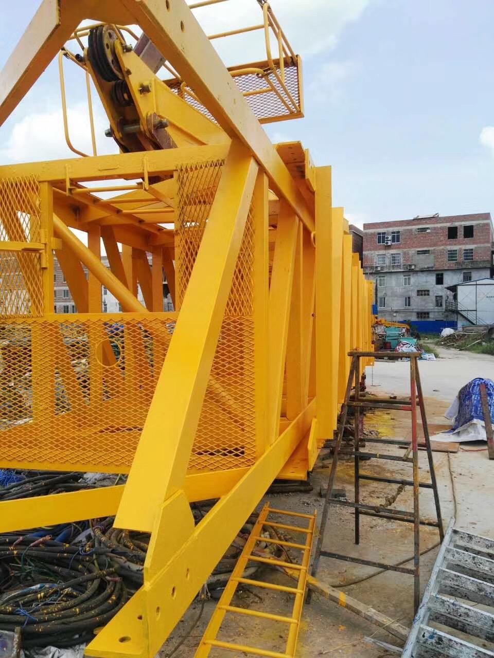 丙烯酸塔吊中黄