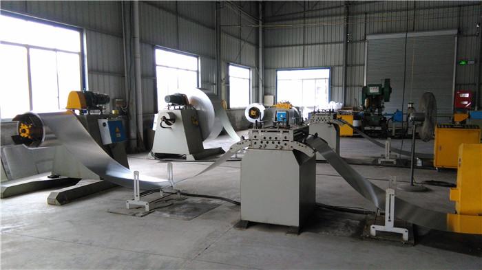 车间生产机械展示
