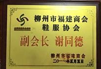 柳州市福建商会鞋服协会副会长