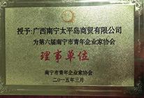第六届南宁市青年企业理事单位