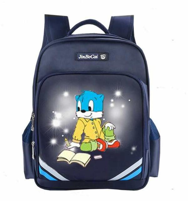 蓝色蓝猫书包