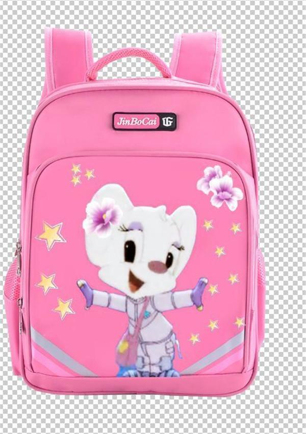 粉色蓝猫书包