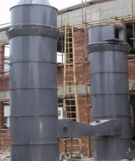 河池湘化化工回轉窯廢氣處理