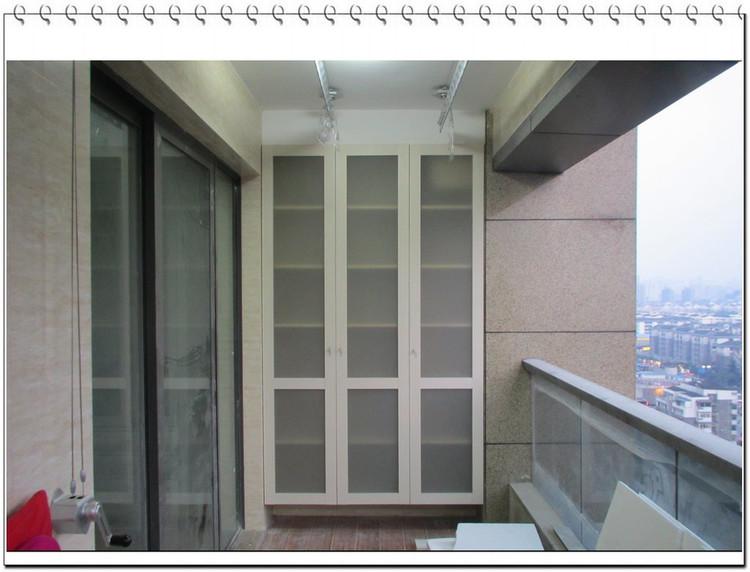 齐铝阳台柜