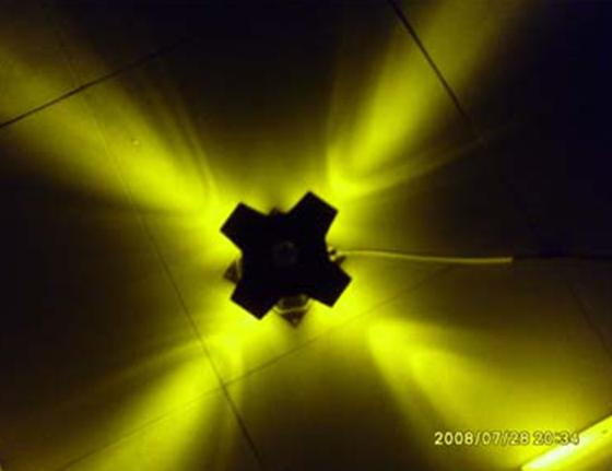 LED十字星光灯1