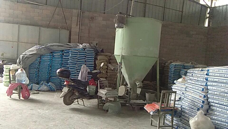 百色工廠機器環境