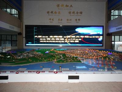 柳州国家级广西北海出口加工区沙盘展示+查询机
