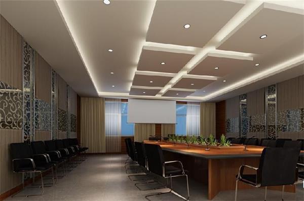 安全防护网公司会议室