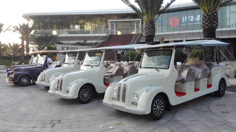 广西中信国安集团(北海第一城)项目使用看房车