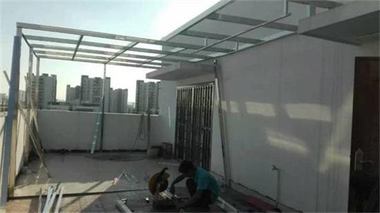 横县屋顶阳光房加工