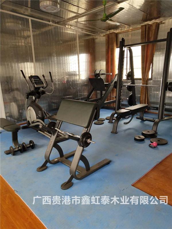 本公司的健身房