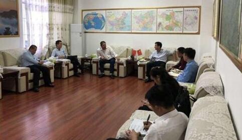 國儲林合作東蘭縣洽談會